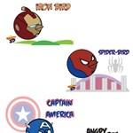 Ilyenek lennének az Angry Birds szuperhősök