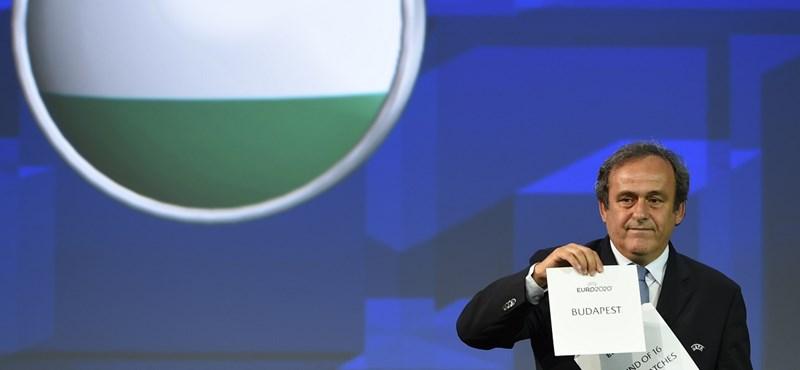 Az UEFA kiáll Platini mellett, és gyors döntést vár