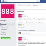 Gondolatrendőrség, liberális maffia, kiállások - áll a bál a 888 Facebook-oldalának elnémítása miatt