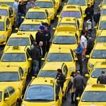 Jön az újabb taxistüntetés, itt lesz lezárás kedden