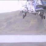 Fotózás közben majdnem a menyasszony fejét vette a mentőhelikopter
