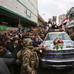 Ezrek búcsúztatták Bagdadban Szulejmánit, mielőtt holttestét Iránba szállítják