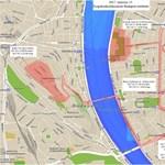 Jön az ünnep, jönnek a forgalomkorlátozások: lista és térkép