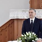 Orbán Viktor templomavatáson szidta egyet az Európai Uniót