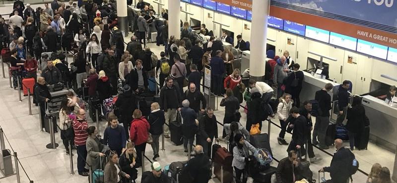 """""""Belső munka"""" lehetett a Gatwick reptér megbénítása"""