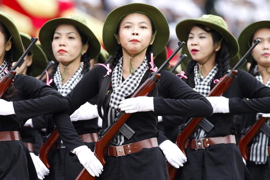 epa. A Dien Bien Phu-i győzelem évfordulója Vietnamban 2014.05.07.
