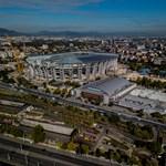 Drónnal néztük meg, hogy áll a Puskás-stadion újjáépítése