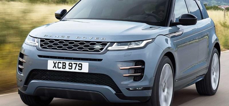 Itt a hibridként is elérhető teljesen új Range Rover Evoque