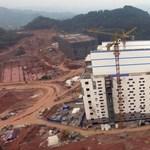 Malacoknak építettek lakótelepet Kínában