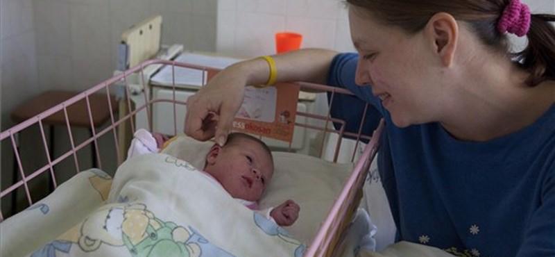Megjöttek az első képek az év első babájáról