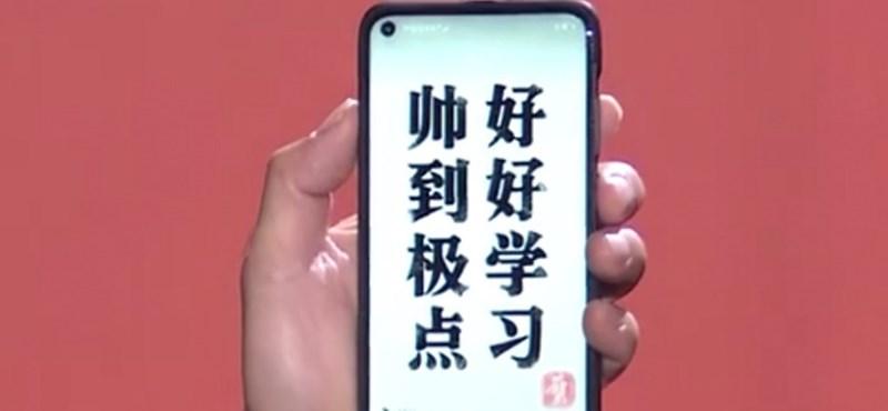 A Huawei egy pillanatra megmutatta a telefont, amivel borsot törne a Samsung orra alá
