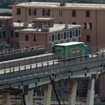 Megkezdődött a leomlott genovai híd bontása