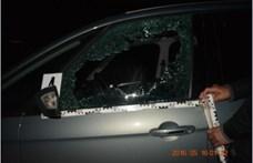 Kővel dobta be haragosa autójának ablakát, felfüggesztett börtönt kapott