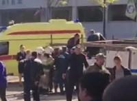 Felrobbant egy krími iskolai menza, legalább tízen meghaltak