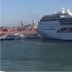 Két hajó ütközött Velencében – videó