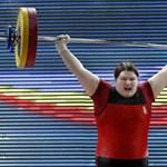 Aranyérmes lett egy magyar súlyemelőnő az Eb-n