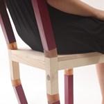 Izraeli szék, ami szinte már táncol