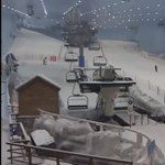Újabb sivatagi városban építenek hópályát