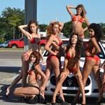 Videó: Van, ahol már 10 dollárért bikinis nők mossák a verdát