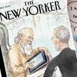 Steve Jobs a mennyország kapujában - New Yorker