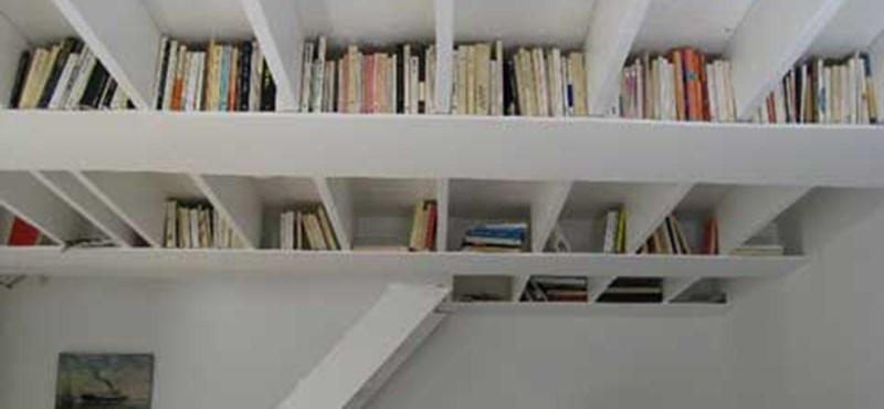 Könyvespolc, házilag!