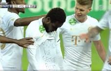 A Fradi játékosa a pólóján üzent: Igazságot George Floydnak!