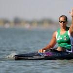 Kajak-kenu vb: Csipes Tamara aranyérmes 5000 méteren