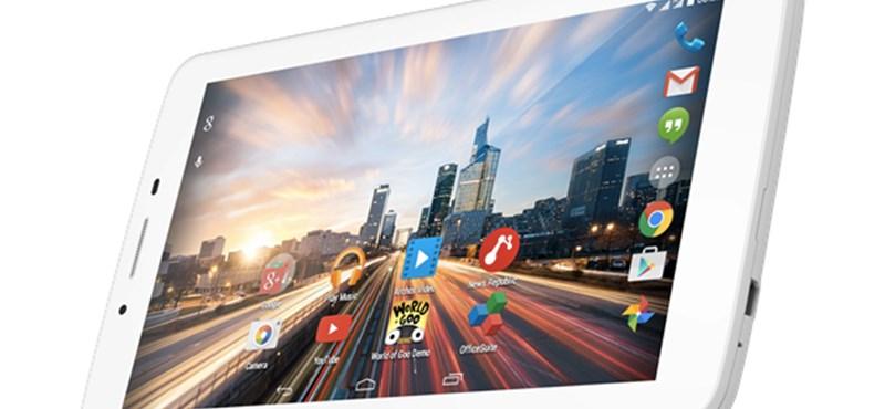 7 új olcsó Android: 4 új telefon és 3 új tablet érkezik