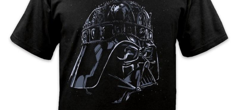 b7ed04c90a Itthon: Darth Vader-es koronás póló miatt nyomoz a rendőrség - HVG.hu