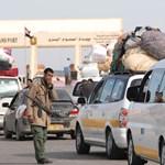 Eddig több, mint félmillióan menekültek el Líbiából