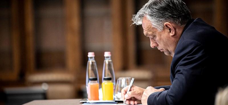 Kiszivárgott Orbánék uniós jogállamisági kritériummal kapcsolatos javaslata