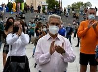 Koronavírus: a madridi autonóm tartomány több zónájában tüntettek a korlátozások miatt
