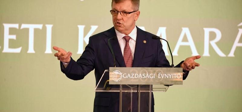 Díszdoktori címet kapott a Debreceni Egyetemtől Matolcsy György