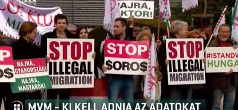 7 millióval támogatta az MVM, hogy a CÖF Brüsszelben tüntessen