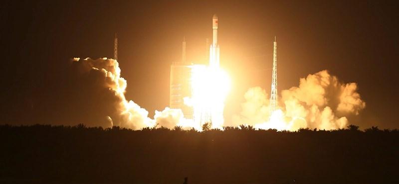 A kínaiak sikeresen felőtték rakétájukat