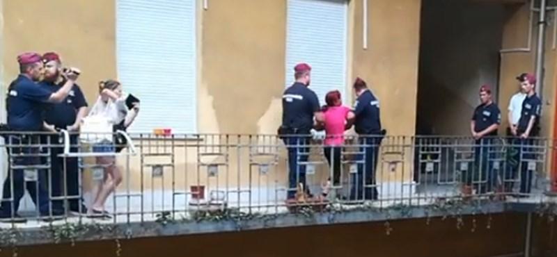 Ma a XI. kerületben lakoltattak ki egy családot