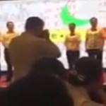 A főnök nyilvánosan elverte az alkalmazottait, mert a cég rosszul teljesít (videó)