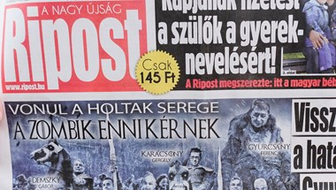 Gyurcsány Ferenc zombiseregével riogat a Ripost