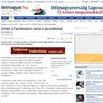 Orbán Viktor a Facebookon vár javaslatokat