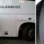 Olcsón megúszta az életveszélyes kerekű buszt használó volános alvállalkozó