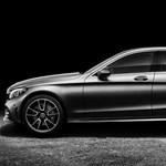 Itt az új C-osztályos Mercedes, mutatjuk