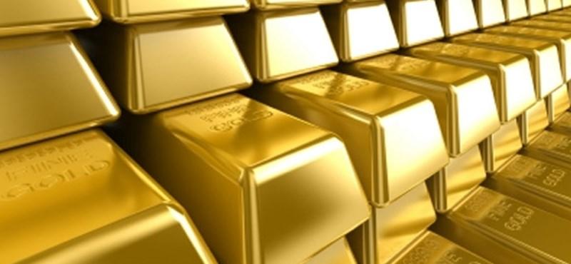 Csökkent a kereslet az arany iránt
