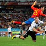 A németek nem egy ligában játszottak a spanyolokkal