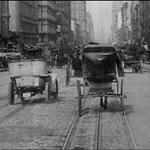 KRESZ nélkül: így közlekedtek az utakon 110 évvel ezelőtt - videó