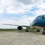 Ferihegyen járt a Boeing egyik büszkesége – fotók