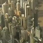 Videó: vízben állnak a felhőkarcolók Brisbane-ben