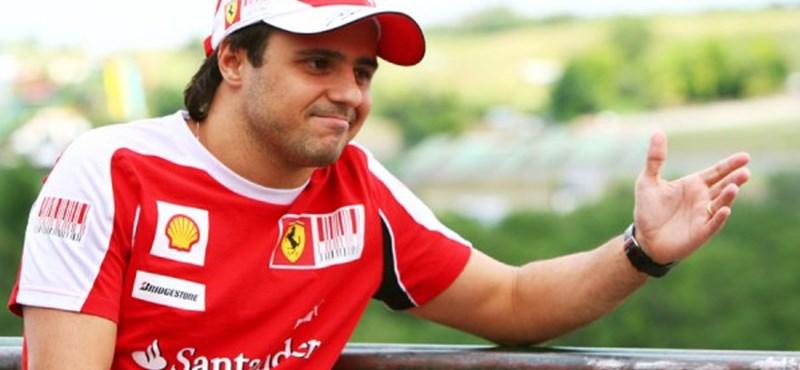 Forma-1: a Ferrarit már száz szál köti Massához
