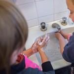 Gyakorivá vált az ekcémás bőr a brit gyerekeknél a gyakoribb kézmosás miatt