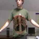 Röntgenlátás a Kinect segítségével – videó