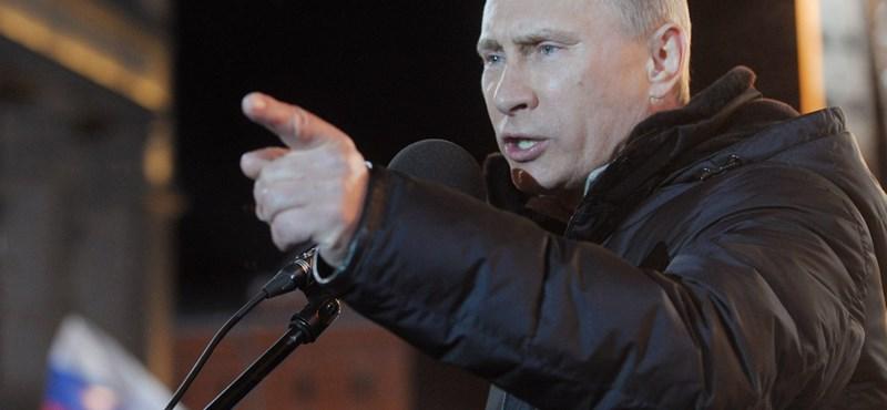 Minden szavazatot összesítettek, így is Putyin nyert